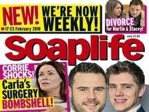 TV, film and music magazine ABCs: Soaplife picks up largest circulation growth as Total Film and Empire both report double-figure decline