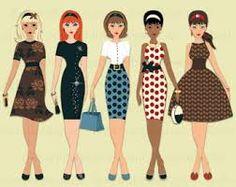 Image result for retro ladies images
