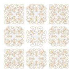 Quilt Embroidery Blocks, Quilt embroidery designs, Machine Embroidery designs, Trapunto, Quilting patterns, Instant Download This is the machine embroidery designs. You will need an Embroidery Machine to stitch this designs. An instant download link will be available immediately after your checkout. Size 130x130 mm (5.09x5.09) Size 140x140 mm (5.5x5.5) Size 150x150 mm (5.79x5.79) Size 200x200 mm (7.85x7.85) Colors: 1.Madeira Rayon 1101-Bright White 2.Madeira Rayon 1101-Bright White / ...