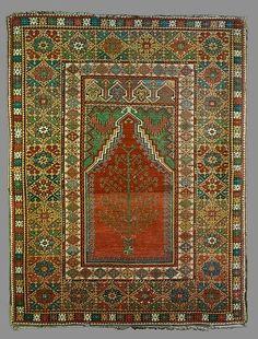 Turkey, Mücür prayer rug, 19th century
