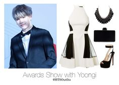 Awards Show with Yoongi by btsoutfits on Polyvore featuring David Koma and Prada