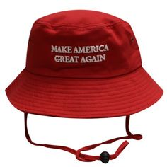 3e06909c5a9 Bd2024 Trump Make America Great Again Bucket Hat Red