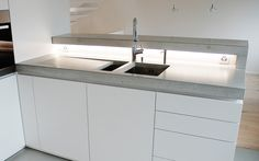 Bespoke | Kitchen systems | Concrete Kitchen | Design Examples. Check it out on Architonic