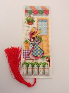 The Girl On The Corner Of The Street Tiny Cross Stitch, Cross Stitch Books, Cross Stitch Bookmarks, Crochet Bookmarks, Cross Stitch Needles, Cross Stitch Cards, Cross Stitch Designs, Cross Stitching, Cross Stitch Embroidery