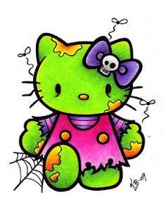 zombie hello kitty