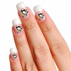 Pittsburgh penguins nails for the emblems by using mini skin pittsburgh penguins nail decals prinsesfo Choice Image