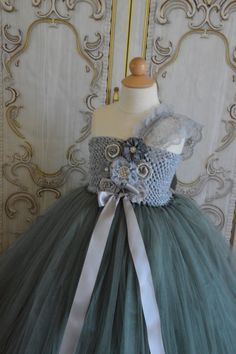 Hey, I found this really awesome Etsy listing at https://www.etsy.com/listing/191036550/shades-of-grey-flower-girl-tutu-dress