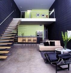 loft style house interior