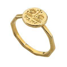 Byzantine Marriage Ring, century, Byzantine, Gold, Bezel 10 x 10 mm. Byzantine Gold, Byzantine Jewelry, Renaissance Jewelry, Ancient Jewelry, Antique Jewelry, Vintage Jewelry, Medieval Jewelry, Antique Rings, Glass Jewelry