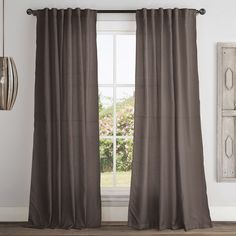 Found it at Wayfair - Broome Blackout Single Curtain Panel