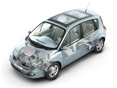 2006-2009 Renault Scenic - Illustration unattributed