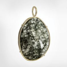 Image Shown is a Group 5 Black Rutilated Quartz - Every Harriet Stone is Unique, Final Stone Color May Vary