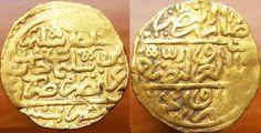 Gold coin - Sultan Selim II. Gavel of Misr, 974 AH  Metal Detector: Garrett Ace 250 Search coil: NEL Tornado