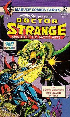 Doctor Strange Master of the Mystic Arts #2 (1979) published by Pocket Books.