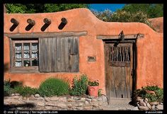 NM adobe house