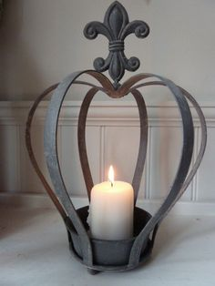 Crown with Candle