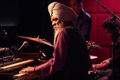 """The organist performed at the Jazz Standard as part of a sextet that just finished recording an album called """"Evolution."""""""