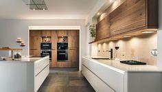 Barrique Old Oak Elegant Home Decor, Elegant Homes, Kitchen Furniture, Furniture Design, Küchen In U Form, Küchen Design, Interior Design, Modern Kitchen Design, Small Apartments