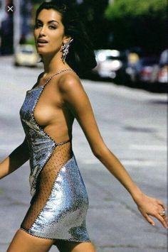 Ass Tits Yasmeen Ghauri CAN 21996-1997  nudes (73 photos), YouTube, braless