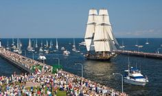 Duluth Maritime Festival: Tall Ships Entering the Harbor Festivals Around The World, Places Around The World, Around The Worlds, Tall Ships Festival, Minneapolis City, Duluth Minnesota, Lake Superior, Twin Cities, Sailboats