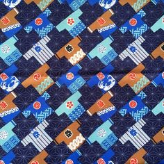 Japanese fabric http://etsy.me/2f2z8yd #fabric #etsy #japan #cloth #clothing #supplies #craft @etsy