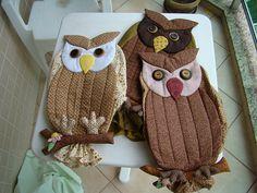 Puxa sacos de corujas, via Flickr.