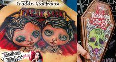 horror freak dolls tattoo