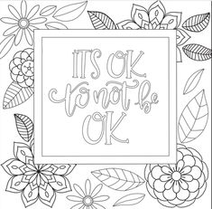 3 Motivational Printable Coloring Pages Zentangle Coloring Book - Basteln Love Coloring Pages, Printable Adult Coloring Pages, Coloring Books, Coloring Sheets, Kids Coloring, Birthday Coloring Pages, Zentangle, Mandala Art, Coloring Pages Inspirational