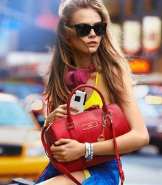 Cara Delevingne for DKNY Spring 2013 Campaign…