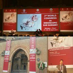 2ο Παγκόσμιο Συνέδριο Ενδοσκοπικής Χειρουργικής Ωτός-2nd World Congress on Endoscopic Ear Surgery #Endoscopy #ear #world #congress #Surgery #bologna #Artopoulos #ΩΡΛ #Αρτόπουλος