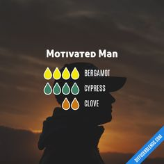 Motivated Man - Essential Oil Diffuser Blend