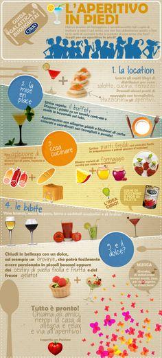 """""""Guida galattica per Buongustai"""" Cirio L'aperitivo in piedi #friends #apertivio #sunday #infographic"""