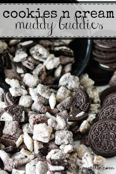 The Recipe Critic: Cookies and Cream Muddy Buddies