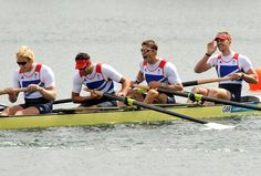 Olympic rower and Royal Navy officer Lieutenant Pete Reed has made history by taking the fourth gold medal for the coxless fours in four consecutive Games. Pete, 30, and teammates Andy Triggs Hodge, Alex Gregory and Tom James have firmly placed themselves in the record books following a nail biting final which saw them pip the favourites – the Australian crew – at the post.