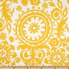 56'' Wide Premier Prints Twill Suzani Corn Yellow Fabric By The Yard by Premier Fabrics, http://www.amazon.com/dp/B00598BI2C/ref=cm_sw_r_pi_dp_v3cYpb0Q93DGF