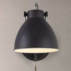 Buy John Lewis Norton Wall Light with Cable Online at johnlewis.com