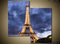 ArtGaleria Obraz drukowany Paryż 60x60cm Wieża HIT