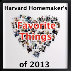 Harvard Homemaker's Favorite Things of 2013.  See what 10 items you readers have loved most this year!  #giftideas #favorites #harvardhomemaker