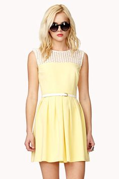 12 Graduation Dresses To Rush Order Now #refinery29  http://www.refinery29.com/46997#slide3  Forever 21 Crocheted A-Line Dress, $24.80, available at Forever 21.