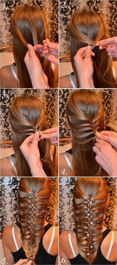 Why are you not around to do this to my hair shmoogits? Stylish Braided Hair Tutorial