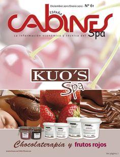 Cabines Spa Diciembre/Enero 2012. Portada de Kuo's Spa