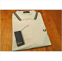 New Men's Original M1200 Fred Perry White Polo Shirt