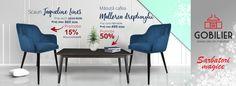 #Scaune deosebite #Jaqueline de #dining set de 4 bucăți. Comanda acum de la #Gobilier pe www.gobilier.ro Promo de #Craciun #🎄 3460 lei setul. Testează în #showroom #Marasti si #Manastur. #☎️ 0748048048 #📩 contact@gobilier.ro Lei, Showroom, Dining, Chair, Furniture, Home Decor, Majorca, Food, Decoration Home
