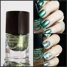 BPS Green Stamping Polish. http://www.blingfinger.net/2015/01/bps-green-stamping-polish.html
