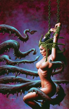 """DEJAH THORIS #10b"" by Joe Jusko [=> http://www.joejusko.com/Featured.asp?Piece=282077 ]"