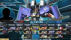 #Gundam Extreme VS Full Boost: EX-S Gundam gameplay