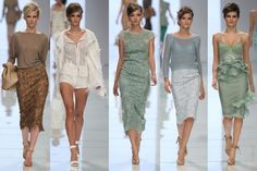 Hello Spring Fashion! Ermanno Scervino Spring 2012