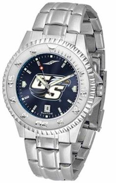 Georgia Southern Eagles GSU NCAA Mens Steel Anochrome Watch SunTime. $86.95. Links Make Watch Adjustable. AnoChrome Dial Enhances Team Logo And Overall Look. Stainless Steel. Men. Officially Licensed Georgia Southern Eagles Men's Stainless Steel Dress Watch