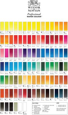 Watercolour Paints - Palette and Swatches — Daughter Zion Designs