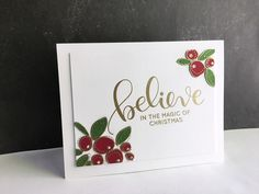 Simon Says Stamp  had a new release today... Believe in the Season ! There are beautiful, fun, and inspiring stamps, dies and some prett...